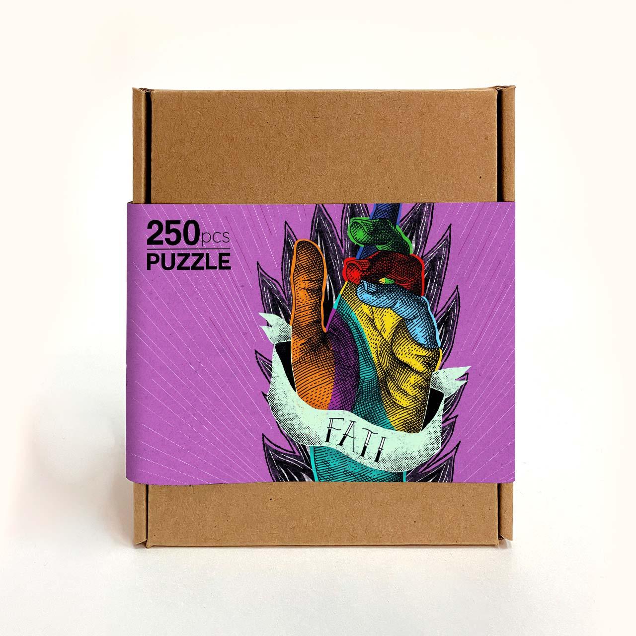 Puzzle illustrato Fati 250 pz
